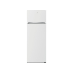 Réfrigérateur combiné top Beko RDSA240K30W A++ 146.5cm