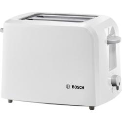 Grille-pain Bosch TAT3A011 CompactClass Blanc 2 petites fentes