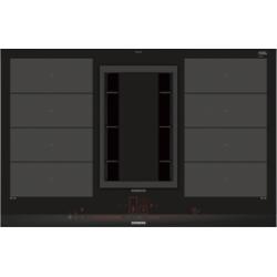 Table de cuisson INDUCTION avec Hotte intégrée SIEMENS EX877LX33E