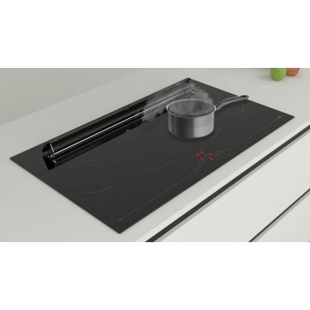 taque induction avec hotte int gr e airforce asp. Black Bedroom Furniture Sets. Home Design Ideas