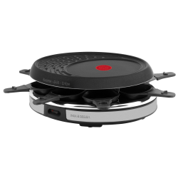 Raclette Tefal Deco Inox - Design RE137812