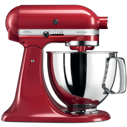 Robot sur socle KitchenAid Artisan 5KSM125PSEER 4.8L Rouge Empire