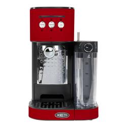 Machine à espresso Boretti B401 Rouge + système latte, cappuccino