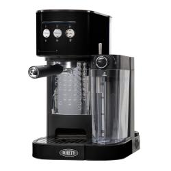 Machine à espresso Boretti B400 Noir + système latte, cappuccino