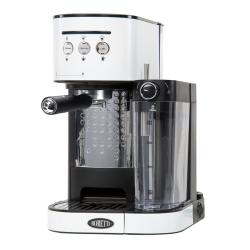 Machine à espresso Boretti B402 Blanc + système Latte, cappuccino