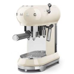 Machine à café Expresso Smeg ECF01CREU Crème Années 50