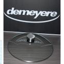Couvercle en verre/inox Demeyere 6526 Diam 26
