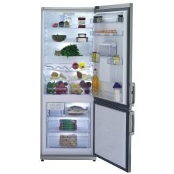 Réfrigérateur Combiné No  Beko frost Look Inox CH142120DPX 191cm