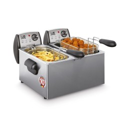 Friteuse double à zone froide Fritel FR1850 Duo 2x3L