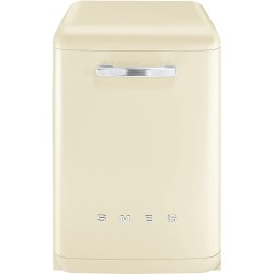 Lave-vaisselle Pose Libre SMEG Années' 50 LVFABCR3 Crème Vintage