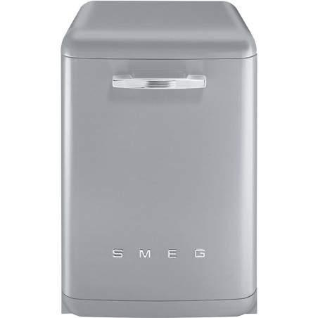 Lave-vaisselle Pose Libre SMEG Années'50 LVFABSV Gris métal