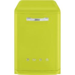 Lave-vaisselle Pose Libre SMEG Années'50 LVFABLI Vert pomme