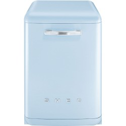Lave-vaisselle Pose Libre SMEG Années'50 LVFABPB Bleu Pastel