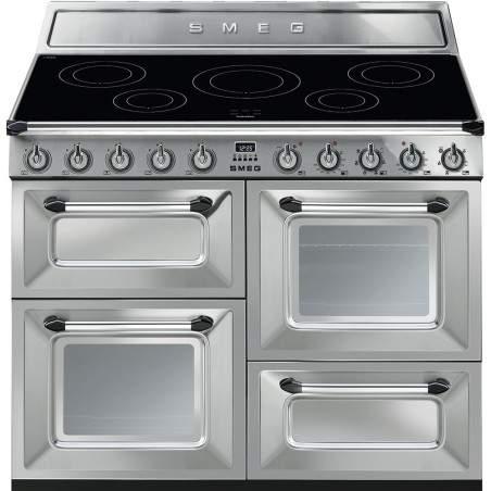 cuisini re induction smeg inox tr4110ix. Black Bedroom Furniture Sets. Home Design Ideas