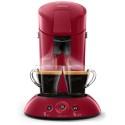 Machine à café Senseo Philips HD6554/90 Rouge Rubis
