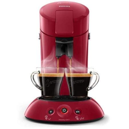 Machine à café Senseo Philips HD6554/90 Rouge Rubis