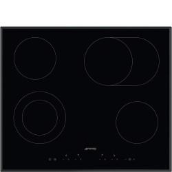 Taque de cuisson vitrocéramique Smeg SE364EMTB 60cm