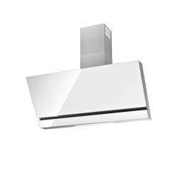 Hotte murale Airforce F166WH 90 WH HeadFree Blanc