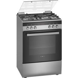 Cuisinière mixte Gaz et électrique inox IQ300 SIEMENS HX9R3AE50