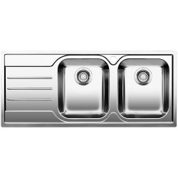 Evier Blanco 2 cuves 518492 Media 8S-IF Inox