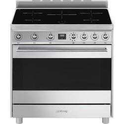 Cuisinière à induction SMEG C9IMX9-1 90cm A Inox