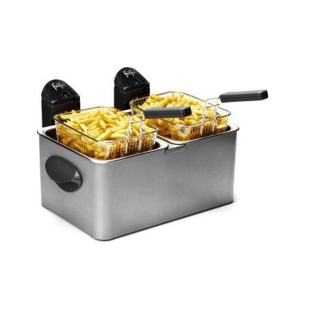 Friteuse double bac 2x 4,5 litres Frifri 1998 Inox