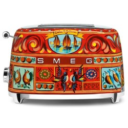 Grille-pain Dolce - Gabbana Smeg TSF01DGEU Sicily is My Love