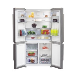 Réfrigérateur Beko 4portes No Frost GN1416231JX inox Premium