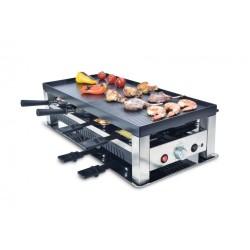 Raclette grille 5 en 1 Solis 977.47 Teppan Gourmet crêpes party