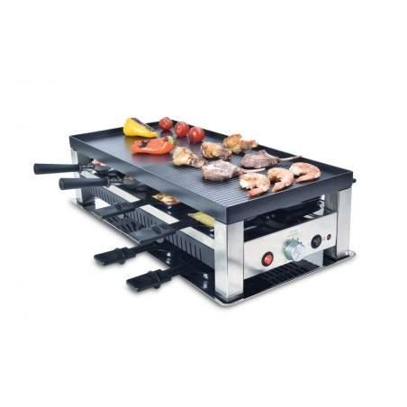 Raclette grille 5 en 1 Solis 791 Teppan Gourmet crêpes party