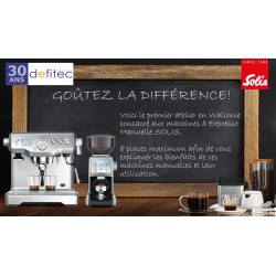 Atelier Café Barista exclusif Powered by Solis