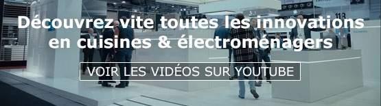 tendances et innovations en cuisines et électroménagers - Batibouw 2018