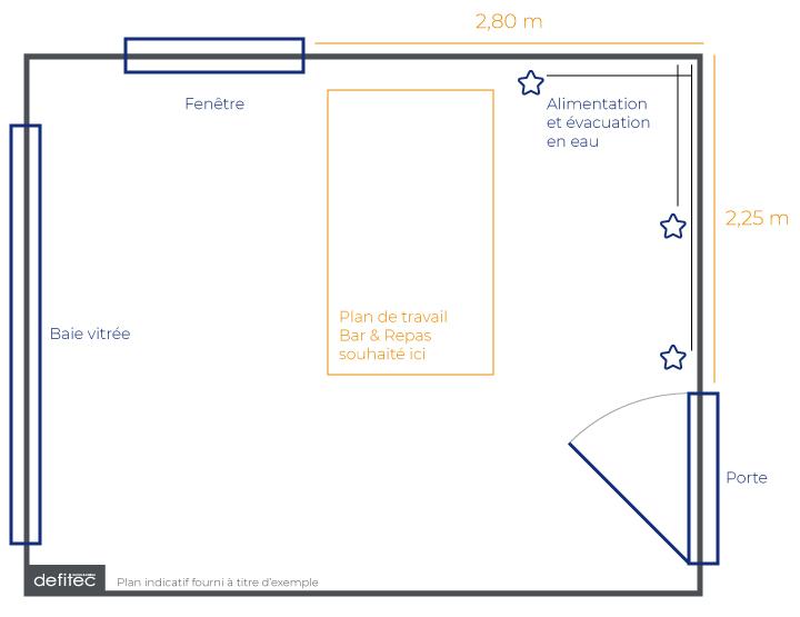 mesurage et plan de votre cuisine équipée sur mesure