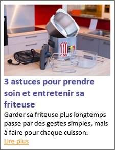 Gagnez une friteuse fritel turbo sf - Comment degraisser une friteuse ...