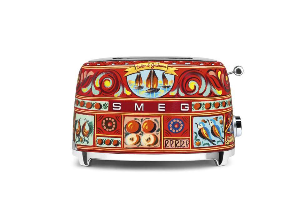 Toaster rétro SMEG Collection Dolce & Gabbana