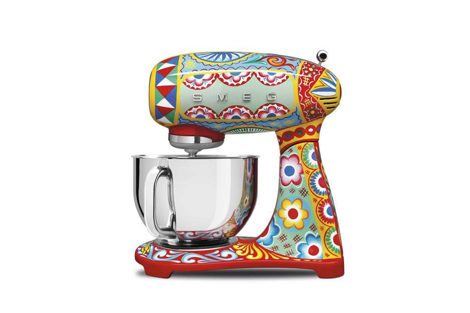 Robot pâtissier SMEG collection Dolce & Gabbana