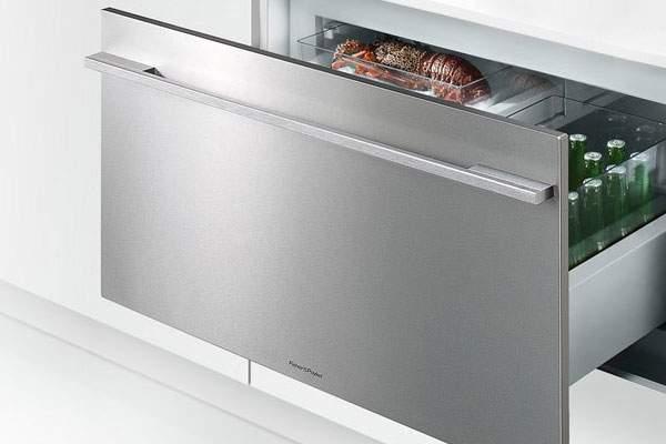 frigo réfrigérateur coulissant encastrable Fisher & Paykel